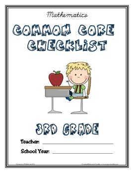 Common Core Checklist - 3rd Grade - Math