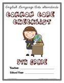 Common Core Checklist - 5th Grade - ELA