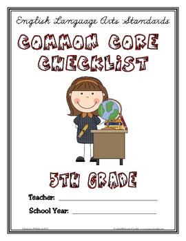 Common Core Checklist - 5th Grade - ELA & MATH
