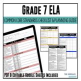 Grade 7 ELA Common Core Checklist