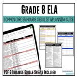 Grade 8 ELA Common Core Checklist