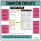 Grades 9-10 ELA Common Core Checklist