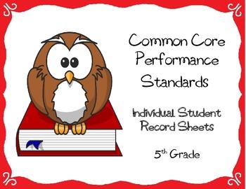 Common Core Checklist (Individual Student Assessment Checklist: Grade 5)