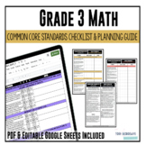 Grade 3 Math Common Core Checklist