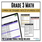 Grade 3 Math Common Core Checklist