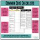Grade 6 Math Common Core Checklist