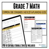 Grade 7 Math Common Core Checklist