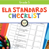 ELA Standards Checklist 5