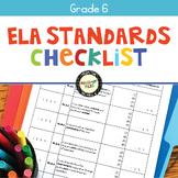 ELA Standards Checklist 6