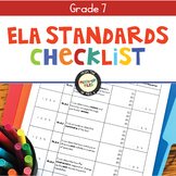 ELA Standards Checklist 7