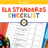 ELA Standards Checklist 8
