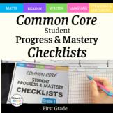 Common Core Checklists {1st Grade}