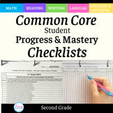 Checklists for 2nd Grade Common Core Standards _Editable