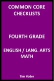 Common Core Checklists – Fourth Grade English/Language Art