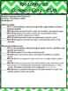 Common Core Checklists K-5 - Beautiful Green Chevron