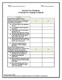 Common Core Checklists (Language, Listening, & Speaking) K-5