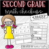 Common Core Checkups -- 2nd Grade Math -- An Assessment for Every Standard!