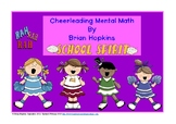 Common Core Cheerleading Mental Math