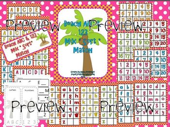 "Common Core ""Chicka Boom"" Alphabet Sort and Match Game"