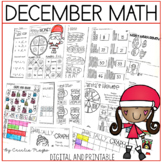 Common Core Christmas-1st Grade Math Unit