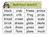 "Common Core: Christmas ""Blends"" Speed Drill"