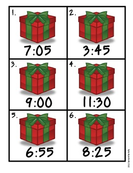 Common Core Christmas Math Centers