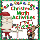 3rd Grade Christmas Math: Christmas Math Activities, Scoots, and Centers