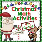 Christmas Math  - 4th Grade