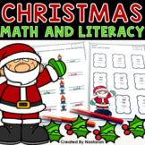 Christmas Math Worksheets & Christmas Literacy Worksheets