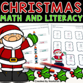 Christmas Worksheets - Math and Literacy Second Grade