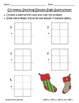 Common Core Christmas Stockings Double Digit Subtraction w/ BORROWING