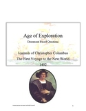 Common Core: Christopher Columbus' Journals DBQs