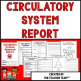 Circulatory System of the Human Body Research Report