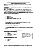 Common Core: Citing Textual Evidence (Lesson Plans, Student Practice, & Rubric)