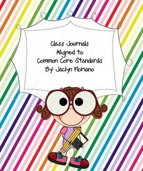 Common Core Class Journals
