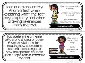 Common Core Classroom Posters: Fifth Grade: ELA & Math