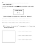 Common Core Click Clack Moo Assessment