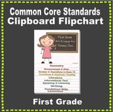 Common Core Clipboard Flipchart Resource (1st Grade)