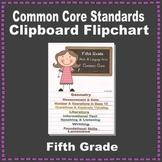 Common Core Clipboard Flipchart Resource (5th Grade)