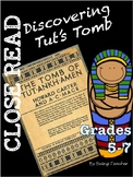 King Tut Motivating Lesson Close Read