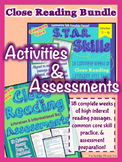 Common Core Close Reading Activities and Assessments Bundl