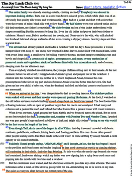 Common Core Close Reading Assessments {Middle Grades}