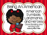 Common Core Close Reading First Grade- Being An American