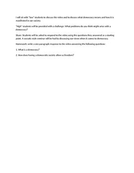 Common Core Code X Unit 3 lesson plans