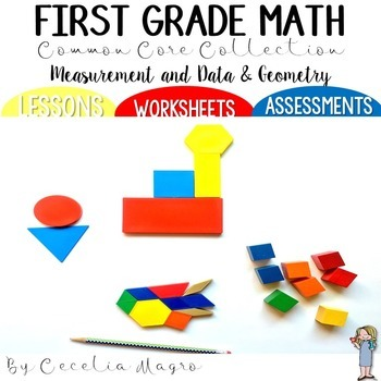 First Grade Math *Measurement & Data and Geometry* Common