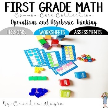 First Grade Math  *Operations and Algebraic Thinking* Common Core Collection
