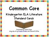 ELA: Literature C. C. Common Board Standard Signs