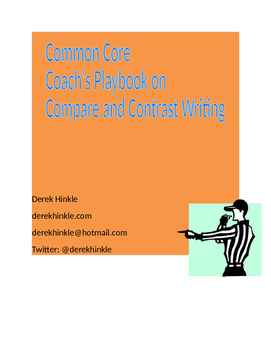 PARCC/AIR/Common Core Compare and Contrast Writing Activity