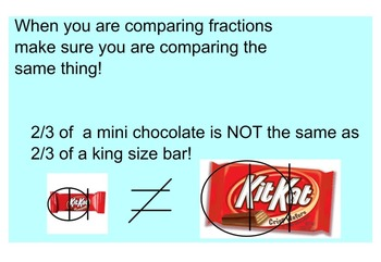 Common Core Comparing Fractions