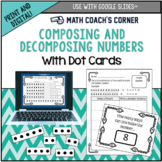 Composing and Decomposing Numbers with Dot Cards: Print an